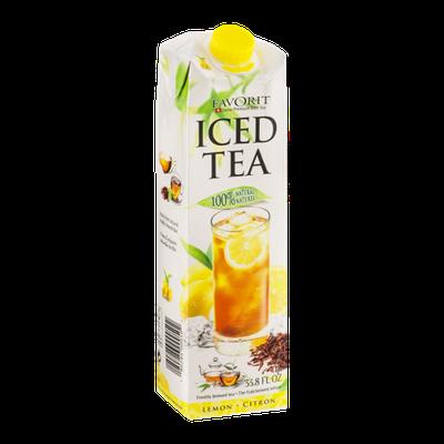 Favorit Swiss Premium Iced Tea Lemon
