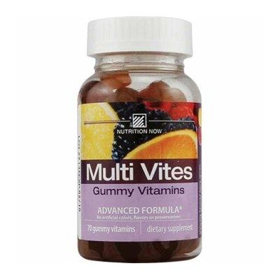 Nutrition Now Multi Vites Gummy Vitamins Fruit 70 Gummies