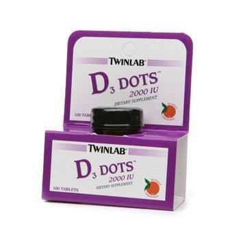 Twinlab Vitamin D3 Dots 2000 IU