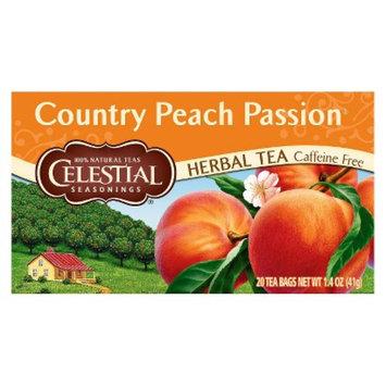 The Hain Celestial Group, Inc. Celestial Seasonings Country Peach Passion Herbal Tea 20 ct, 6 pk