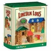K'nex Lincoln Logs Shady Pine Homestead