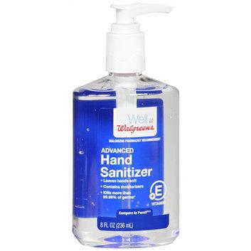 Walgreens Hand Sanitizer Pump with Vitiamin E