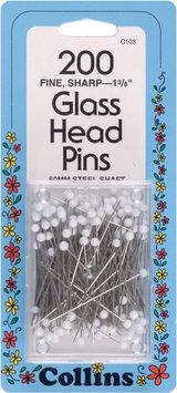 W H Collins Inc. Dritz Collins Glass Pins - W H COLLINS INC.