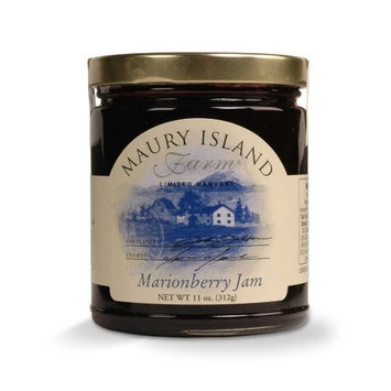 Gourmet Marionberry Jam, 11 oz Jar - All Natural - by Maury Island Farms (Pack of 4)