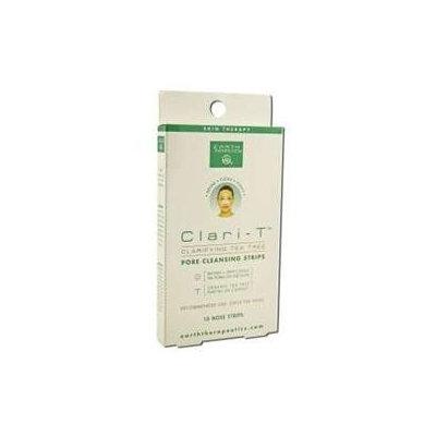 Earth Therapeutics - Clari-T Pore Cleansing Strips - 10 Strips