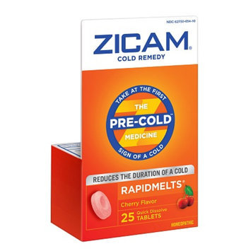 Zicam Cold Remedy Homeopathic Rapid Melts