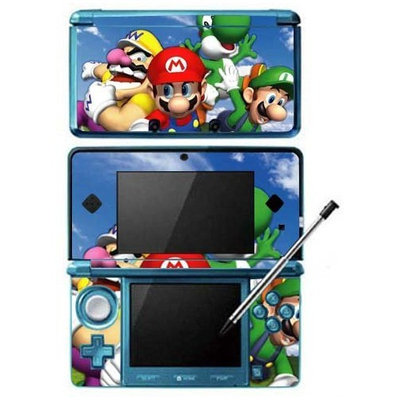 Skinhub Super Mario 64 DS Game Skin for Nintendo 3DS Console