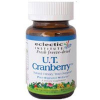 Eclectic Institute Inc Urinary Tract Cranberry, 50 Caps (Pack of 3)