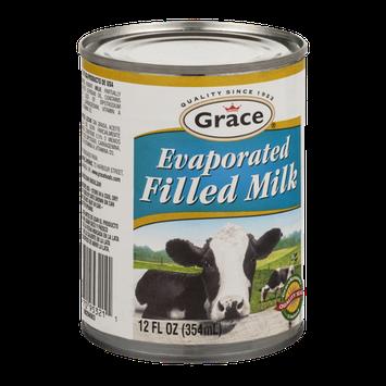 Grace Evaporated Filled Milk