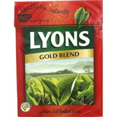 Lyons Gold Label Tea 80 tea bags