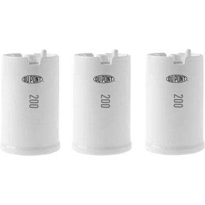 DuPont Ultra Protection 200 Gallon Faucet Mount Water Filtration Cartridge (Set of 3)