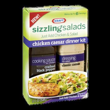 Kraft Sizzling Salads Chicken Caesar Dinner Kit