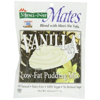 Mori Nu Mori-Nu Mates Pudding Mix, Vanilla, 4 Ounce (Pack of 12)
