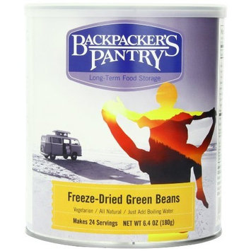 Backpacker's Pantry Freeze-dried Green Beans, 6.4 Ounce