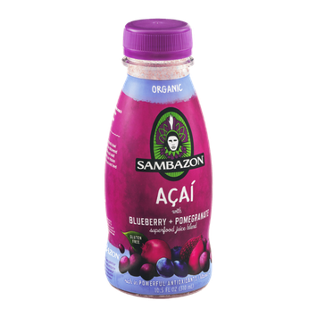 Sambazon Organic Superfood Juice Blend Acai with Blueberry + Pomegranate