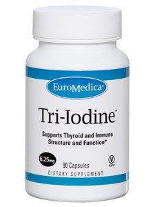 Euromedica Tri Iodine 6.25 mg 90caps