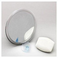 Zadro ZS06 Acrylic Suction Cup Mirror in 5x Magnification