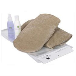 W.R. Medical Skin Care Hand Comfort Kit, 2 Mitts, 100 Liners, Cream