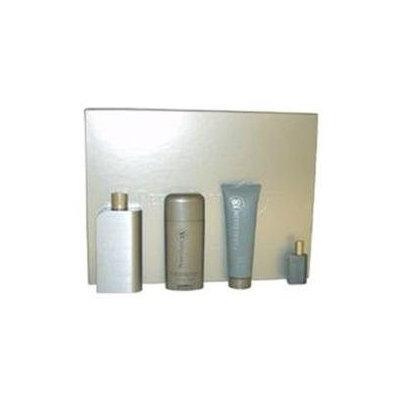 Perry Ellis 18 by Perry Ellis for Men - 4 Pc Gift Set 3.4oz EDT Spray, 3oz Hair And Body Wash, 2.75oz Alcohol Free Deodorant Stick, 7.5ml EDT Spray