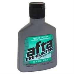 Afta Pre-Electric Shave Lotion, Original, 3 oz