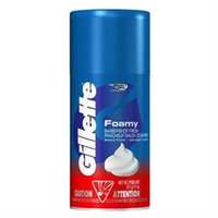 Gillette Foamy Barber Shop Clean Shave Cream