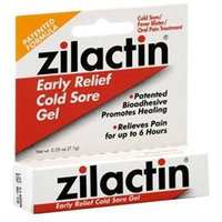 Zilactin Early Relief Cold Sore Gel, 0.25 oz