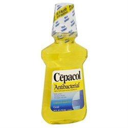 Cepacol Mouthwash with Ceepryn, Gold, 24 oz