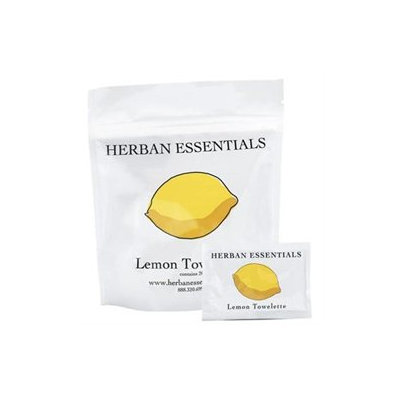 Herban Essentials Lemon Towelettes, 20 towelettes