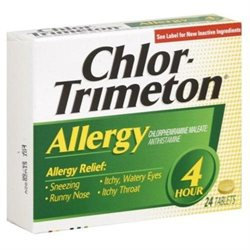 Chlor-Trimeton 4 Hour Allergy Relief, 24 tablets