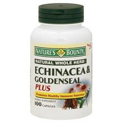Nature's Bounty Echinacea & Goldenseal Plus, Capsules