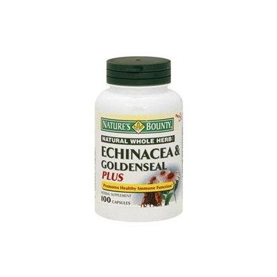 Nature's Bounty Echinacea & Goldenseal Plus, Capsules