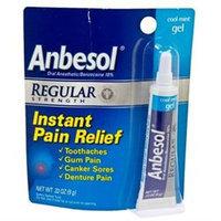 Anbesol Regular Strength Gel, Cool Mint, .33 oz