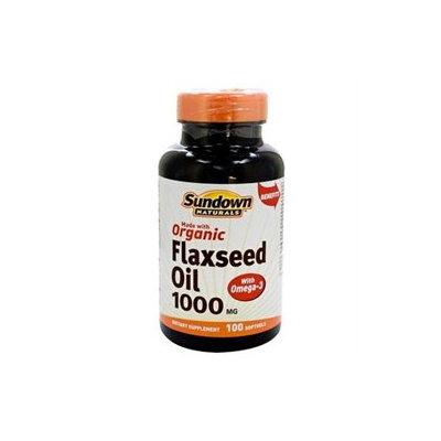 Sundown Naturals Flaxseed Oil - 1000 mg - 100 Softgels