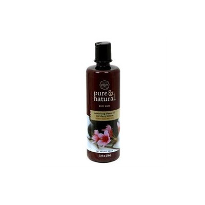 Pure & Natural Body Wash, Moisturizing Almond Oil and Cherry Blossom, 12.8 fl oz (378 ml) - DIAL