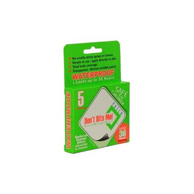 Dont Bite Me Patch Don't Bite Me - Insect Repellent Patch - 5 Patches