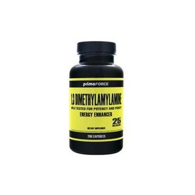 1,3-Dimethylamylamine 20 mg, 200 Capsules, PrimaForce
