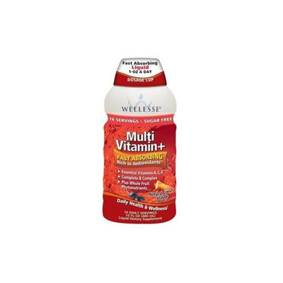 Wellesse Multivitamin, Citrus, 16 fl oz