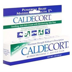 Caldecort Soothing Maximum Strength Anti Itch Cream 1 oz