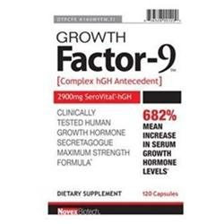 Bio Minerals Novex Biotech - Growth Factor-9 Complex Hormone Antecedent - 120 Capsules