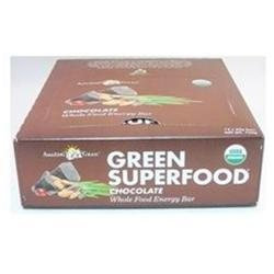 Amazing Grass Green SuperFood Energy Bars, Chocolate