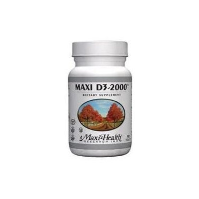 Maxi D3 2000 180 Tab by Maxi Health Kosher Vitamins (1 Each)