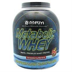 MRM Metabolic Whey Protein Strawberry Banana - 5 lbs