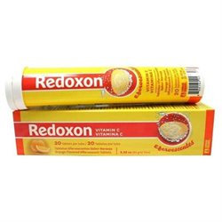 Redoxon Orange Vitamin C Dietary Supplement Effervescent Tablets