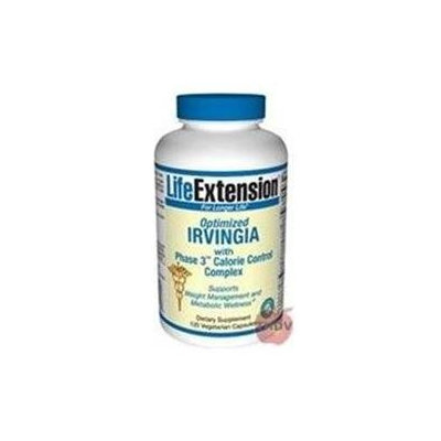 Life Extension Optimized Irvingia with Phase 3 Calorie Control Complex