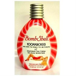 Designer Skin Bombshell 100xx Hot Tanning Lotion 13.5 Oz. Bottle