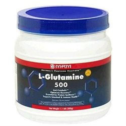 MRM L-Glutamine - 500 Grams - Unflavored