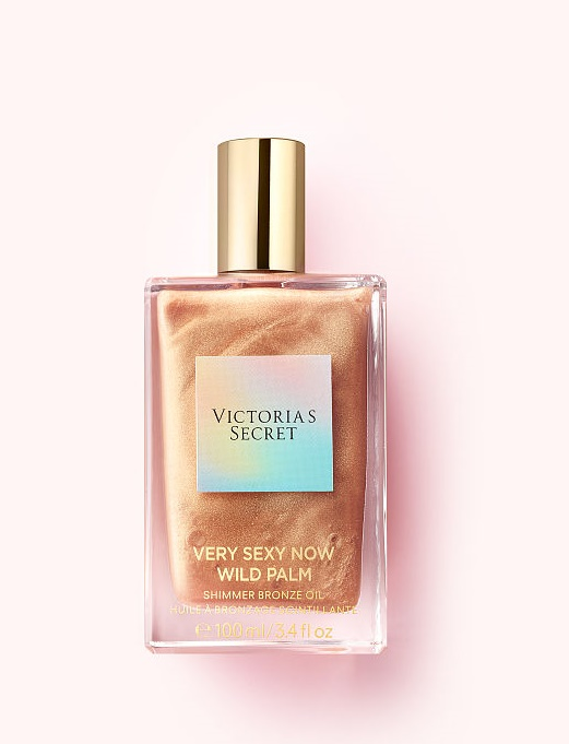 Victoria's Secret Very Sexy Now Wild Palm Shimmer Bronze Fragrance Oil