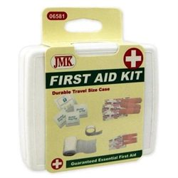 JMK 06581 20-Piece Compact Camping Travel First Aid Kit