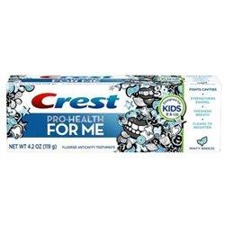 Crest Anticavity Fluoride Toothpaste, Minty Breeze, 4.2 oz