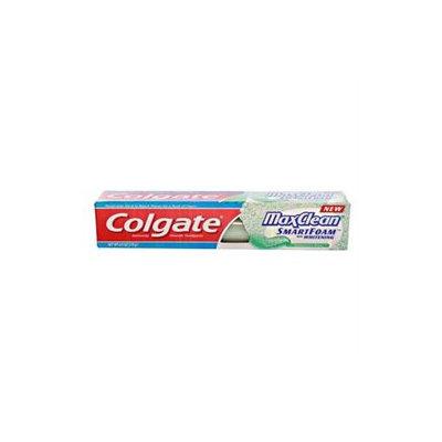 Colgate MaxClean with SmartFoam Anticavity FluorideToothpaste, Spearmint Blast